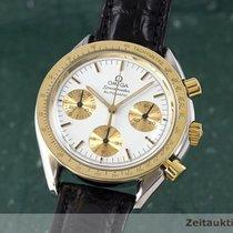 Omega Speedmaster Chronograph Herrenuhr Stahl / Gold Automatik