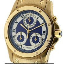 Cartier Santos Collection Santos Ronde Chronograph 18k Yellow...