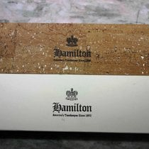 Hamilton vintage watch box cork