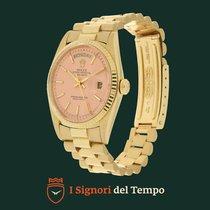 Rolex Day-Date 1803 Pink Stella Dial