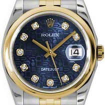 롤렉스 (Rolex) Datejust 36 116203-BLJDDJ Blue Jubilee Dial...
