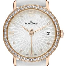 Blancpain Ladies Ultra Slim Automatic 34mm 6604-2944-55a