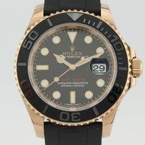 롤렉스 (Rolex) Yacht – Master Rose Gold 40 Black Ceramic 116655...