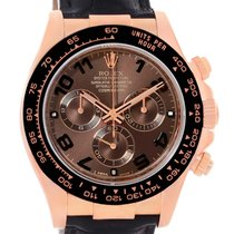 Rolex Cosmograph Daytona 18k Rose Gold Everose Watch 116515...