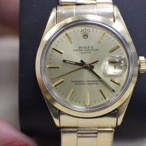 Rolex Vintage Date 1550 Stainless & 14K YG Original Polish