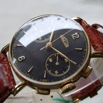 Angelus Vintage Chronograph Cal 215 18K Gold