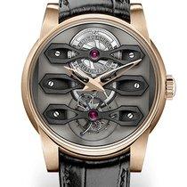 Girard Perregaux BRIDGES NEO-TOURBILLON Pink Gold 45mm ...