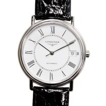 Longines Presence Stainless Steel White Automatic L4.821.4.11.2