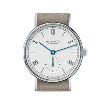 Nomos GLASHÜTTE Ludwig 33 stainless steel back Mens Watch 243