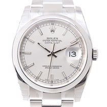Rolex Datejust Stainless Steel Silver Automatic 116200SV