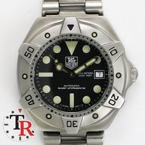 TAG Heuer Super Professional Diver, box +papers, No Polish.