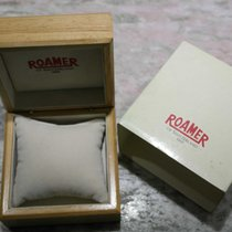 Roamer vintage wooden watch box