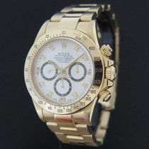 Rolex Oyster Perpetual Cosmograph Daytona Yellow Gold With...
