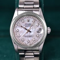Rolex Oyster Perpetual 31mm,  11 Diamanten, Stahl + Gold,...