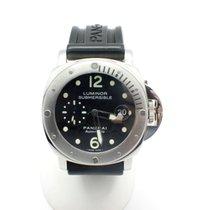 Panerai Steel Panerai Luminor Submersible Watch PAM24 J Series