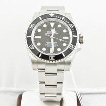 Rolex 40mm Submariner Steel Watch 114060 Ceramic Bezel