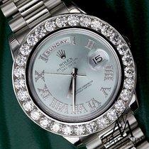 Ρολεξ (Rolex) Platinum Presidential 10ct Diamond Rolex...