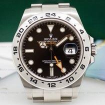 ロレックス (Rolex) 216570 Explorer II Black Dial SS / SS (25531)
