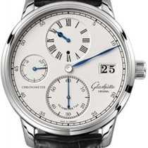 Glashütte Original Senator Silver Dial Hand Wind Men's Watch