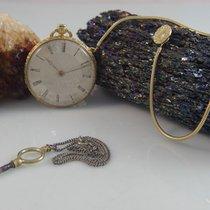 Antike Vintage Taschenuhr In 750 / 18k Gold Uhr 333 Er Gold...