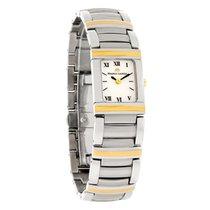 Maurice Lacroix Miros Integral Ladies 18K/Steel Watch MI2012-Y...