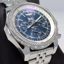 Breitling For Bentley 6.75 A44362 49mm Chronograph Auto Blue...