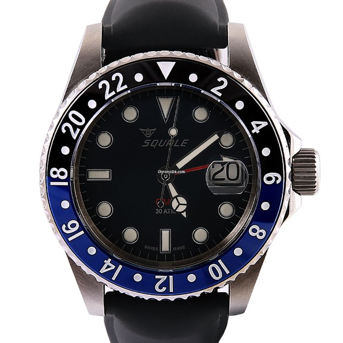 squale 30 atmos horizon gmt ceramic 42mm steel for c 883 for sale