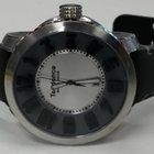 Tendence Swiss Men's Leather Grey/Silver Watch TE450005