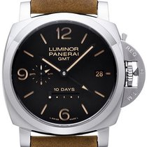 パネライ (Panerai) Luminor 1950 10 Days GMT Automatic Acciaio...