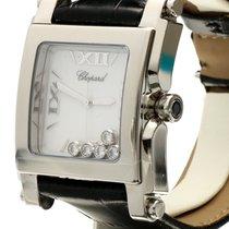 Chopard Happy Sport Square Steel Flying Diamonds (36 x 47 mm)