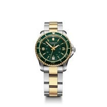 Victorinox Swiss Army Maverick Small, Lady, green dial, steel...