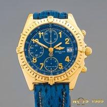 Breitling Chronomat Chronograph VITESSE K13048 18K GOLD...