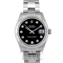 Rolex Datejust Lady 31 Black/Steel G Ø31mm - 178274