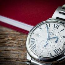 Cartier Ballon Bleu Silver Dial Chrono
