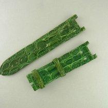 Cartier Pasha Krokoleder Armband Grün 20/19 Mm Alligator...