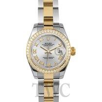 ロレックス (Rolex) Lady Datejust Silver Steel/18k gold Dia 26mm -...