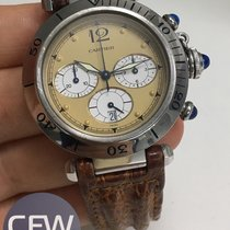 Cartier Pasha Chronograph 38mm Safari