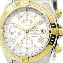 브라이틀링 (Breitling) Polished Breitling Chronomat Evolution 18k...