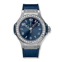 Hublot Big Bang Steel Blue Diamonds 38mm Ref 361.SX.7170.LR.1204