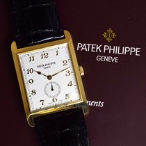 Patek Philippe Gondolo 18k Yellow Gold Mens Watch & Box 5109J