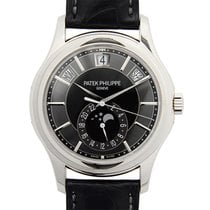 百達翡麗 (Patek Philippe) Complications 18k White Gold Gray...