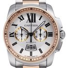 Cartier Calibre de Cartier Chronograph Stahl / RG W7100042