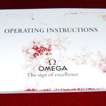 Omega Operating Instructions Heft CAL.1152/1164
