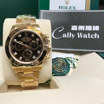 Rolex Cally - 全金 黑面鑽石 BLACK DIAL DAYTONA 116508 -8DI (116528...