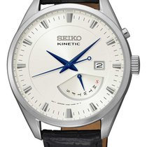 Seiko SRN071P1 Kinetic Herren retrograde Tagesanzeige 42mm 100M