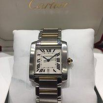 Cartier Tank Française   Steel /Gold Big Size ref: 2302