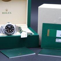 Rolex EXPLORER II 216570 BLACK DIAL NUOVO 2017