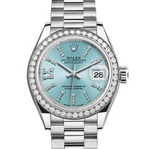 Rolex Oyster Perpetual Lady-Datejust 28 279136RBR (Platinum)