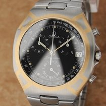 Omega Seamaster Polaris 38mm 18k Gold and Stainless St...