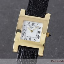 Chopard Lady 18k (0,750) Gold Your Hour Damenuhr Saphirglas
